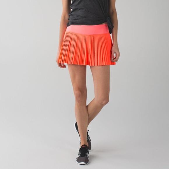 391246eeb7 lululemon athletica Skirts | Lululemon Pleat To Street Ii Pleated ...